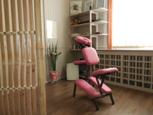 chaise de massage amma assis